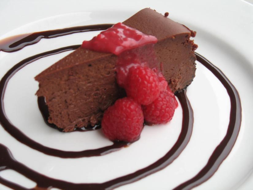 Chocolate Raspberry Truffle CheesecakeReligion